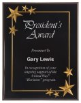 Black Star Acrylic Award Recognition Plaque Acrylic Plaques