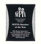 Black/Silver Reflection Acrylic Award Recognition Plaque Acrylic Plaques