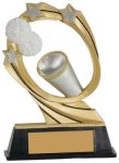Cheer Cosmic Resin Trophy Cheerleading Trophy Awards