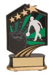 Bowling Resin Trophy Graphic Star Resin Trophy Awards